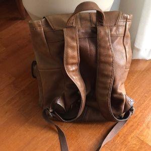 L.L. Bean Bags - L. L. Bean leather backpack